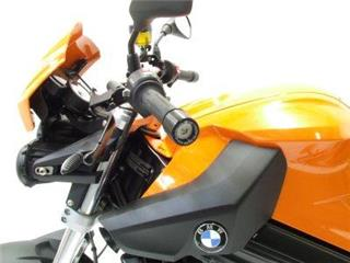 Embouts de guidon R&G RACING noir BMW F800R