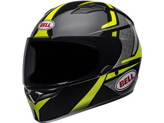 BELL Qualifier Helmet Flare Gloss Black/Hi Viz Size XXL - 800000220572