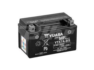 Batería Yuasa YTX7A-BS Combipack (con electrolito)