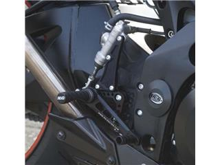 R&G RACING Rearsets Black Suzuki GSX-R1000