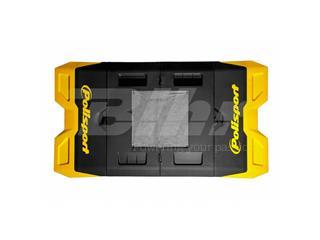 Alfombra plastica de box Polisport amarillo 8982200001