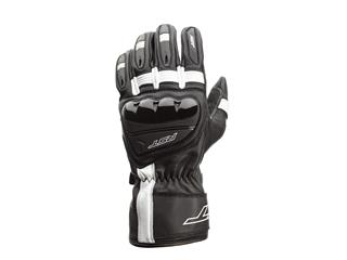 RST Pilot CE Gloves Leather Black/White Size XXL Men
