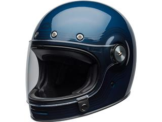 BELL Bullitt DLX Helmet Flow Gloss Light Blue/Dark Blue Size M