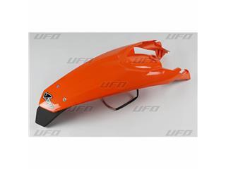 Garde-boue arrière + support de plaque avec feu UFO orange KTM - 78515753