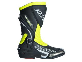 Bottes RST TracTech Evo 3 CE cuir jaune fluo 37 homme