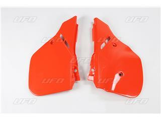 Tampas laterais traseiras UFO laranja Honda