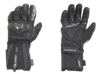 RST Paragon V CE Waterproof Gloves Leather/Textile Black Size S/06 Women