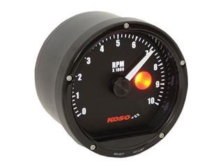 KOSO D75 Tachometer Black 10000rpm