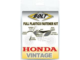 Kit vis plastiques BOLT Honda CR125R