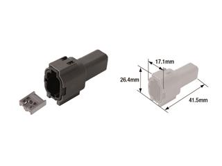 TOURMAX Electrical Female Coupler Waterproof Type 060 (FRM)