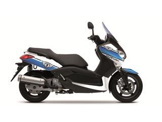 Kit déco Cooper Kutvek blanc/bleu Yamaha X-Max 125/250