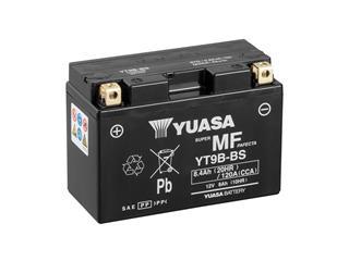 Batterie YUASA YT9B-BS sans entretien livrée avec pack acide - 32YT9BBS
