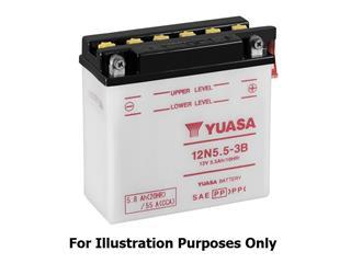 Batterie YUASA 12N24-3A conventionnelle - 3212N243A