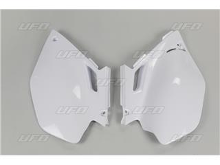 Plaques latérales UFO blanc Yamaha YZ250F/450F - 78428514