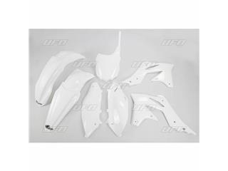 Kit plastique UFO blanc Kawasaki KX250F - 78245110