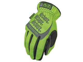 MECHANIX Safety Fast Fit Neon Yellow Gloves Size M