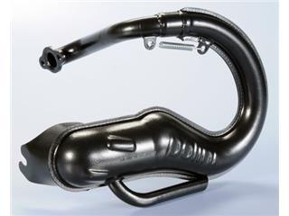 Echappement POLINI Echappement type détente Acier noir/silencieux aluminium Vespa Special 50