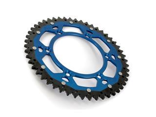 Couronne ART Bi-composants 49 dents aluminium/acier ultra-light anti-boue pas 520 type 251 bleu - 24120666-1ebd-4a37-ad5d-914fe5635206