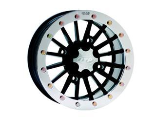 ITP 2BEADLOCK 14x7 4x156 5+2 Aluminum Utility Wheel Black / Silver