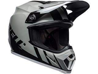 Casque BELL MX-9 Mips Dash Gray/Black/White taille XL - 243a1d12-9a40-446c-bf81-1ee19799eb77