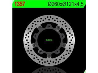 NG 1357 Brake Disc Round Floating