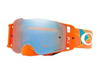 Masque OAKLEY Front Line Troy Lee Designs Metric Red/Orange écran Prizm MX Sapphire Iridium