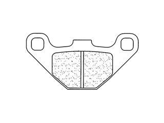 Plaquettes de frein CL BRAKES 2466MX10 métal fritté - 272466MX10