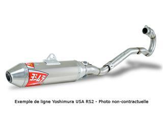 Ligne complète Yoshimura USA RS2 inox/silencieux alu Suzuki DR-Z400