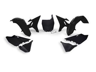 Kit plastiques de rechange RACETECH Revolution noir Yamaha YZ125/250 - 4420008701