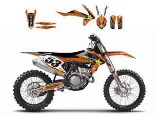 Kit déco BLACKBIRD Rockstar Energy KTM SX/SX-F/EXC - 7805179
