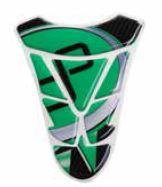 Protection de réservoir Lightech logo vert - STK029
