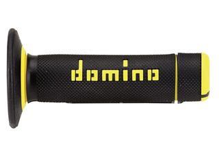 DOMINO A020 Bicolore MX Griffgummis Halbwaffel-Design schwarz/gelb - 872131