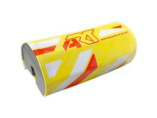 Morcilla protectora de manillar sin barra ART amarillo fluor