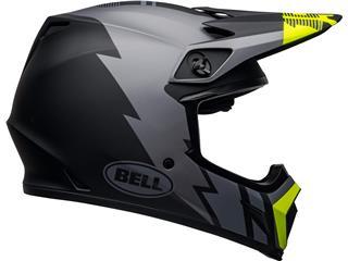 Capacete Bell MX-9 MIPS Strike Cinzenta/Preta/Amarela Flúor, Tamanho XS