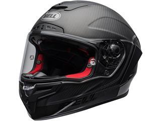 BELL Race Star Flex DLX Helmet Velocity Matte/Gloss Black Size L - 800000020170
