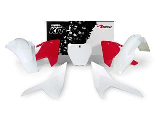 Kit plastique RACETECH blanc/rouge Husqvarna - 7805008