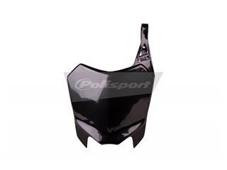 Plaque numéro frontale POLISPORT noir Honda CRF110F - PS213BC06