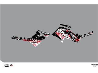 Kit déco KUTVEK Rotor noir Polaris Sportsman 850/1000 TRG - 78104404