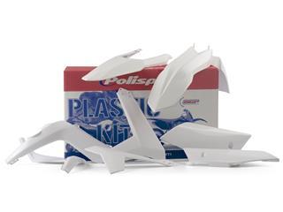 Kit plastique POLISPORT blanc Gas Gas EC