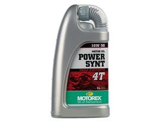 Huile moteur MOTOREX Power Synth 4T 10W50 synthétique 1L - 551685