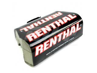 Protector/Morcilla de manillar sin barra superior Renthal trial negro/rojo P303