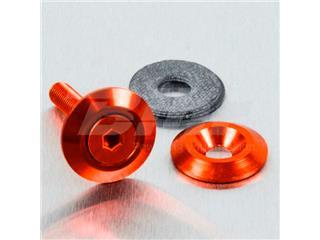 Arandela de Aluminio avellanada M5 (19mm ØExt.) naranja LWAC5O