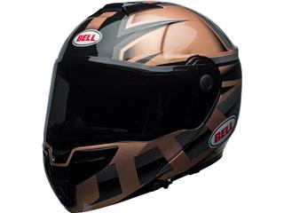 BELL SRT Modular Helmet Gloss Copper/Black Predator Size L