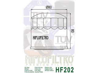 ÖLFILTER HF202 für VFR750, XLV750R, VT1100C, GPZ500S und VN750A - 2733bce9-a04a-4945-9b89-d217396a8b39
