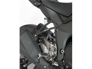 R&G RACING Exhaust Hanger Black Kawasaki Z1000/SX
