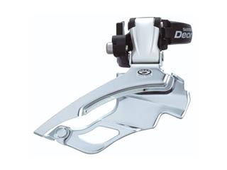 FRONT DERAIL. SHIMANO DEORE M591/DOWN PULL 34.9MM/SILVER