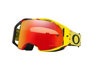 Óculos OAKLEY AIRBRAKE HIGH VOLTAGE Amarela/Vermelha, Lente PRIZM Torch