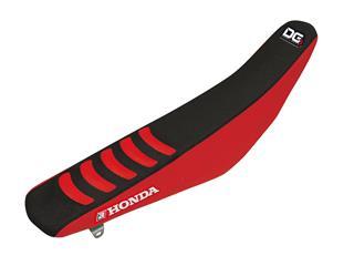Housse de selle BLACKBIRD Double Grip 3 noir/rouge Honda CRF450R
