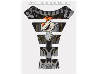 MOTOGRAFIX Tank Pad Street Style 4 pcs Grey/Black Suzuki Bandit