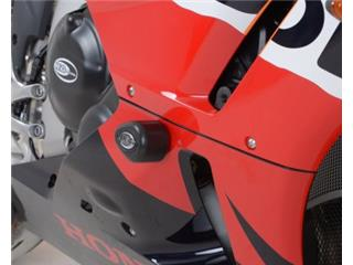 Tampon de protection R&G RACING Aero noir Honda CBR600RR
